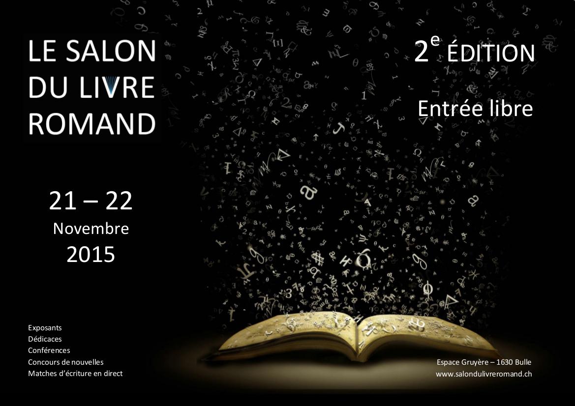 Salon du livre romand c 39 est ce week end le blog de for Salon du ce