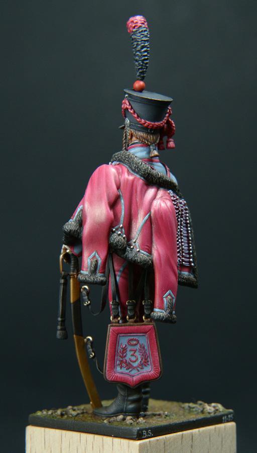 Trompette de Hussards du 3ème Régiment vers 1808 1511200755583593413765940