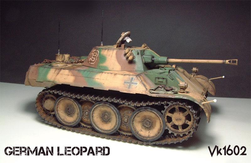German VK1602 Leopard - [HobbyBoss]- 1/35e  1511230630004769013773023