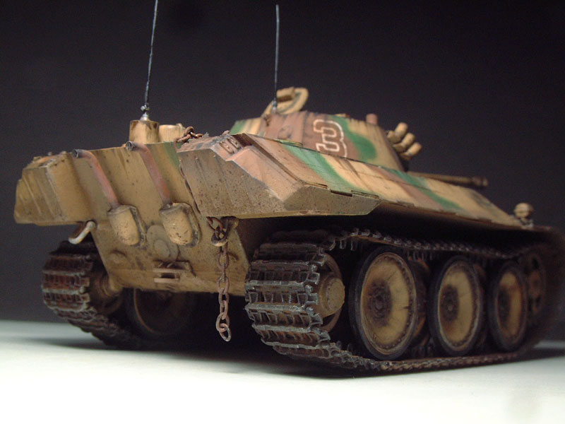 German VK1602 Leopard - [HobbyBoss]- 1/35e  1511230630084769013773050