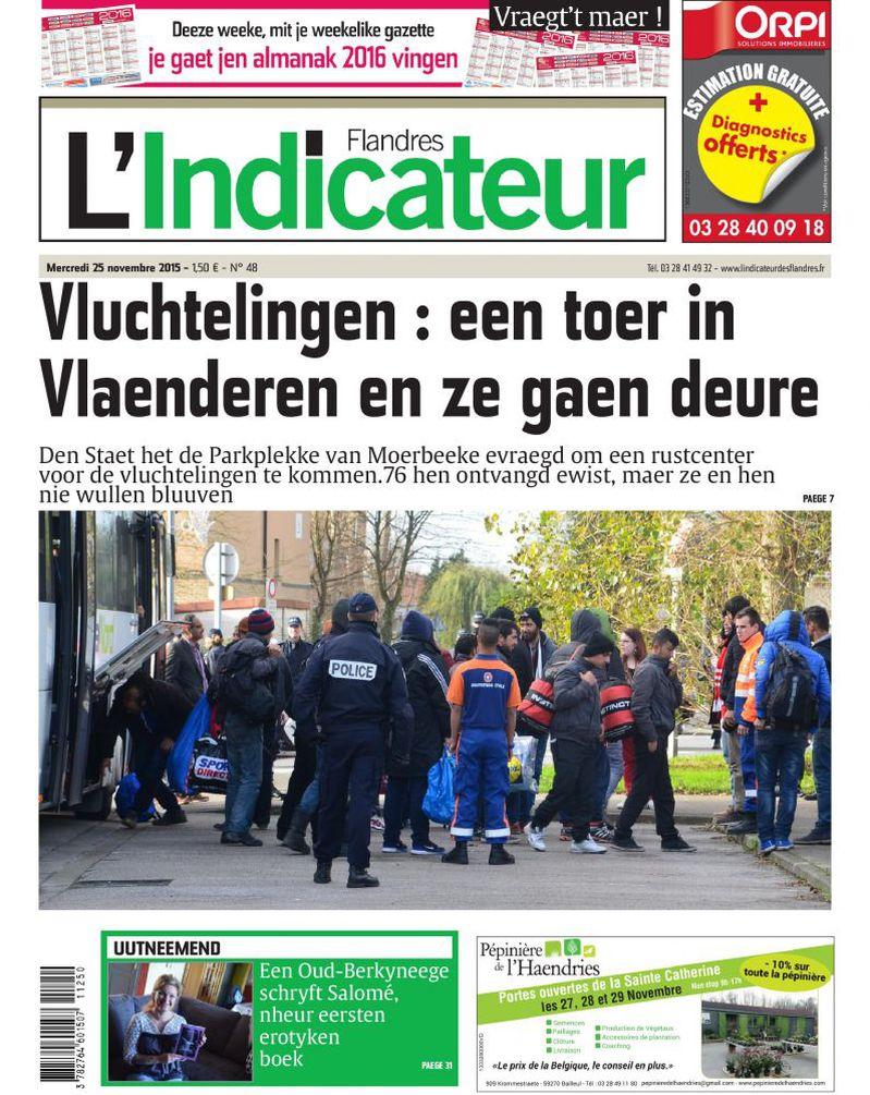 Recente West-Vlaamse opschriften en mededelingen 15112410235214196113776657
