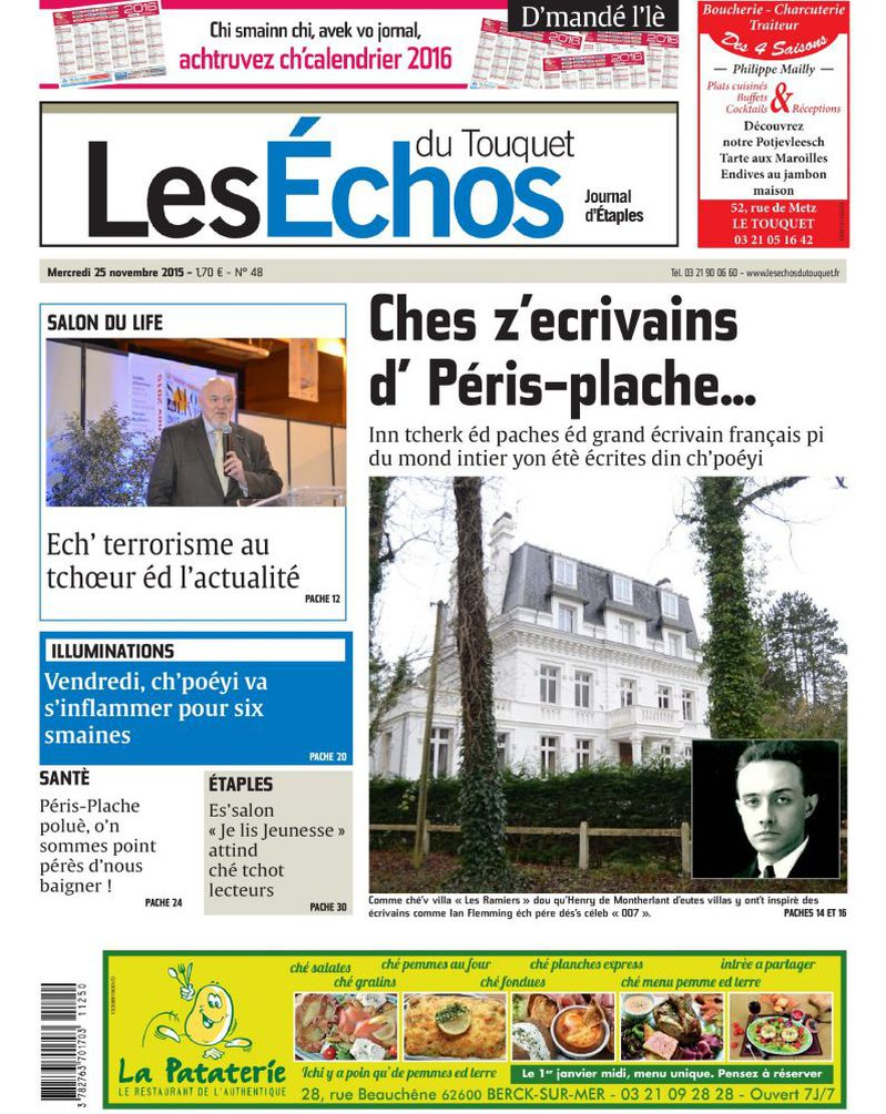 De weekbladen van la voix du Nord in Frans-Vlaanderen - Pagina 2 15112410235514196113776658