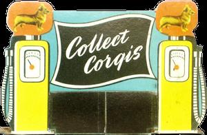 Signalétique Carton Corgi-Toys