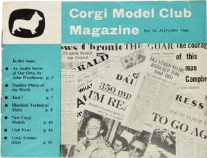 Magazine du club corgi n°16