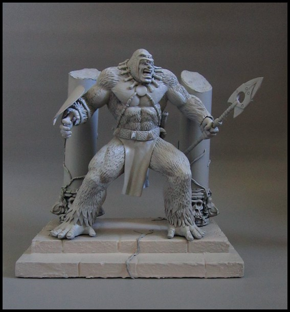 Man-ape statue 15112802063816083613785397