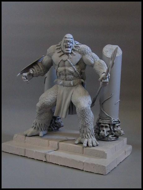 Man-ape statue 15112802063916083613785398