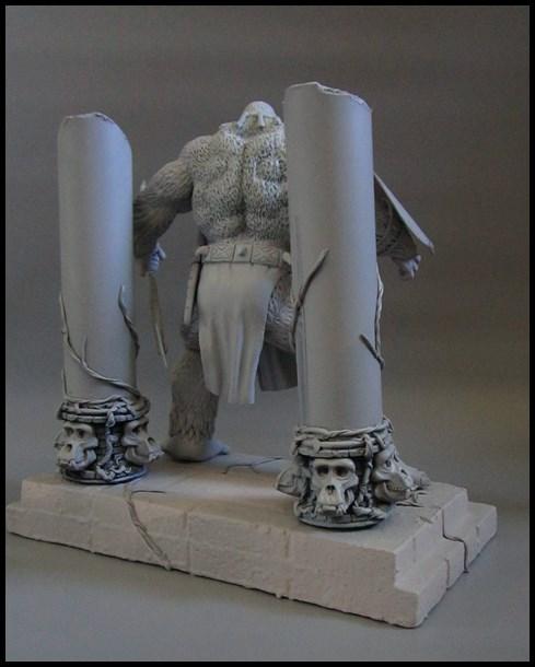 Man-ape statue 15112802064116083613785400