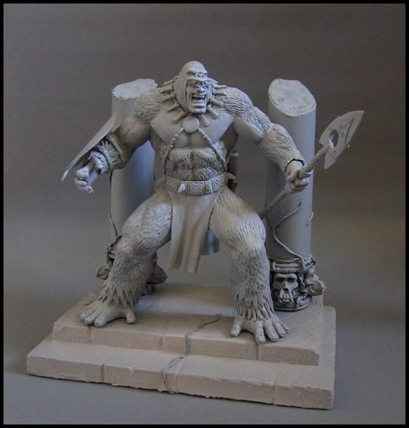 Man-ape statue 15112802064216083613785401