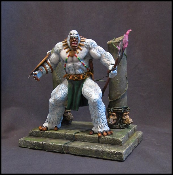 Man-ape statue 15112905135716083613790193