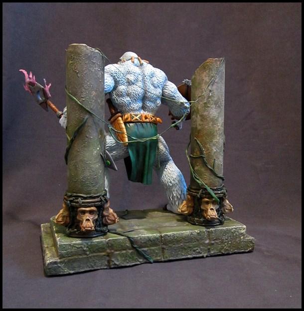 Man-ape statue 15112905140216083613790196