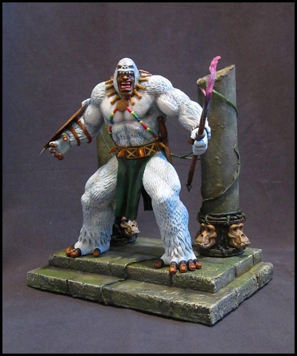 Man-ape statue 15112905140316083613790197