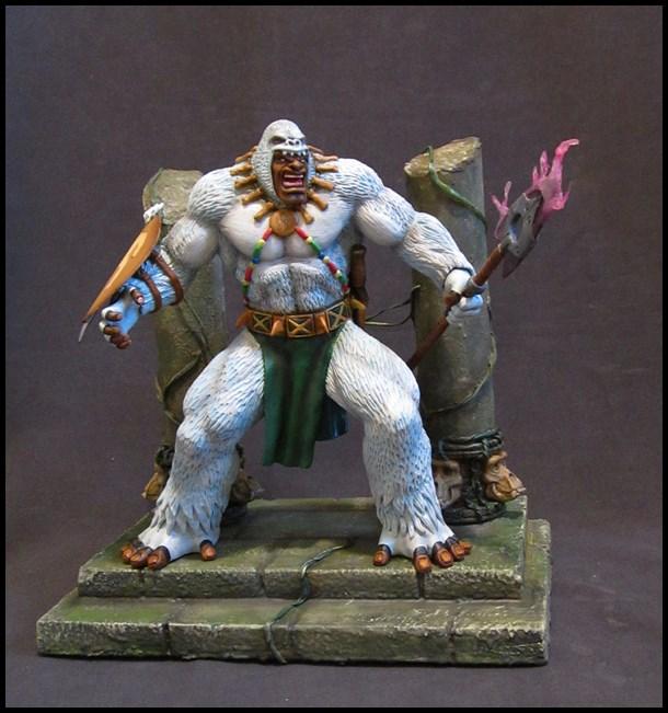 Man-ape statue 15112905140516083613790198