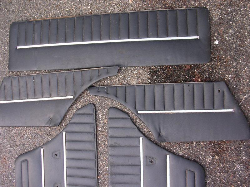 7 panneaux de portes noirs 2101 + 2102 1511290544496076413790632