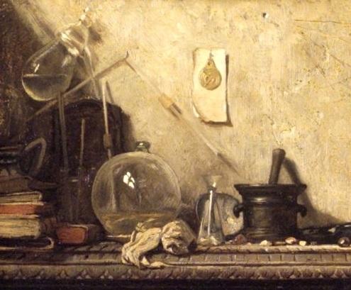 L'Alchimiste sous le regard des peintres 15120210301819075513798255