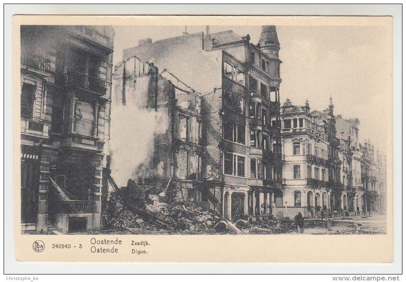 Destruction d'Oostende pendant  la WWII 15120611435719256613809577
