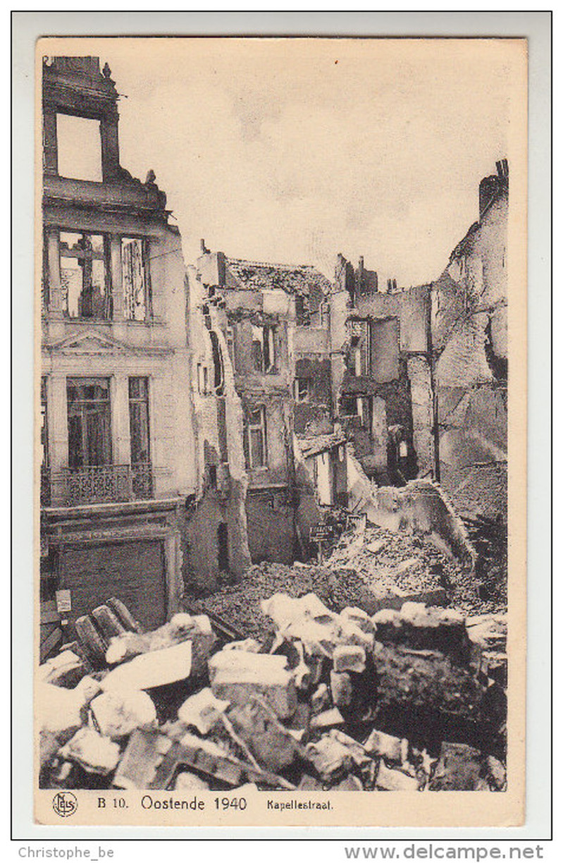 Destruction d'Oostende pendant  la WWII 15120611435919256613809579