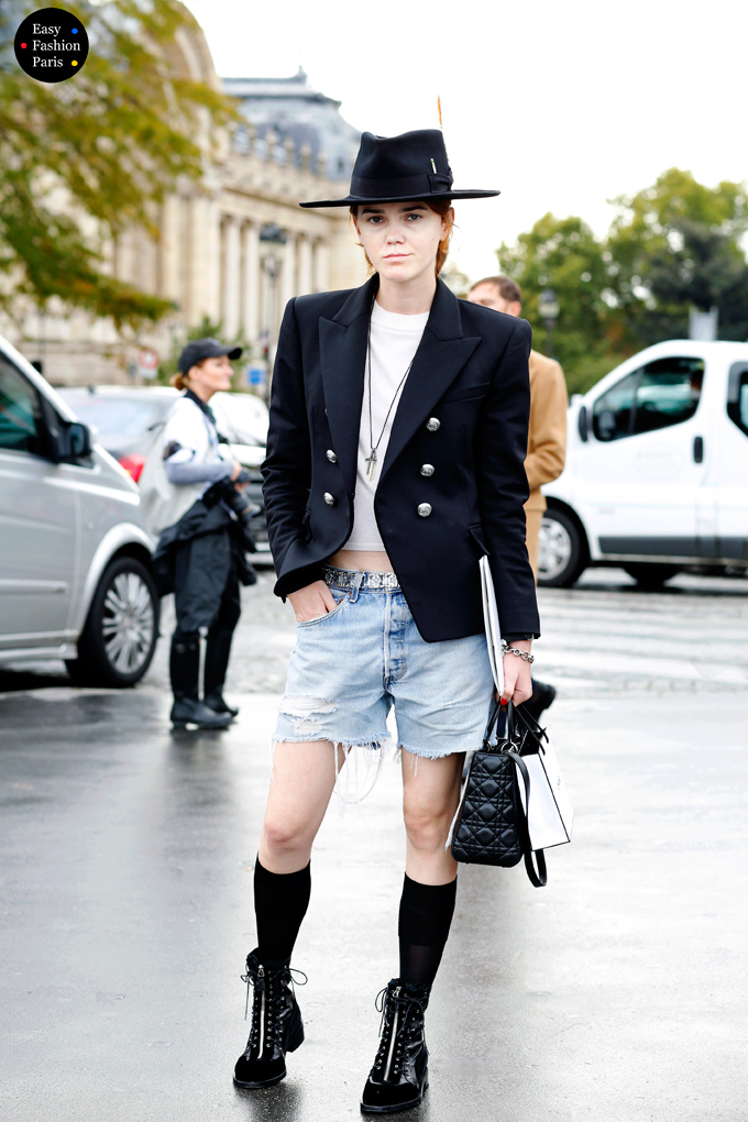 At Chanel - Paris Fashion Week 2015