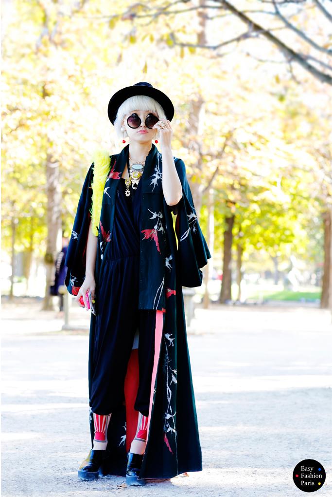 Easy Fashion Japanese Style Les Tuileries Paris Fashion Week 2015