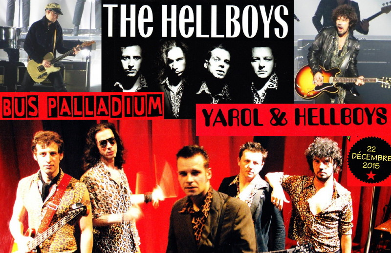 "YAROL POUPAUD & THE HELLBOYS & PHILIPPE ALMOSNINO (""Mutant Love"") 22/12/2015 Bus Palladium (Paris) : compte rendu 15122312581920773813849517"