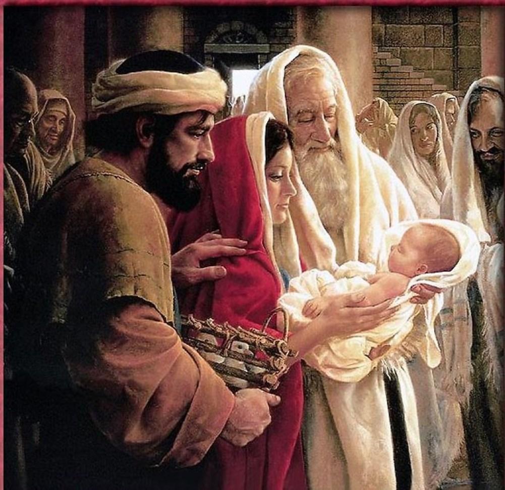 Présentation de Jésus au Temple : textes de St Luc et Maria Valtorta