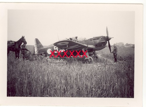 MS406 posé à Barbery Sgt BERTHET
