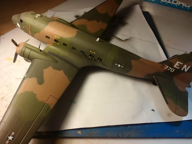 """AC47 gunship """"Spooky EN 770"""" vietnam 1601051015079728713876844"""