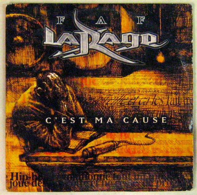 FAF LARAGE - C'est ma cause - CD single