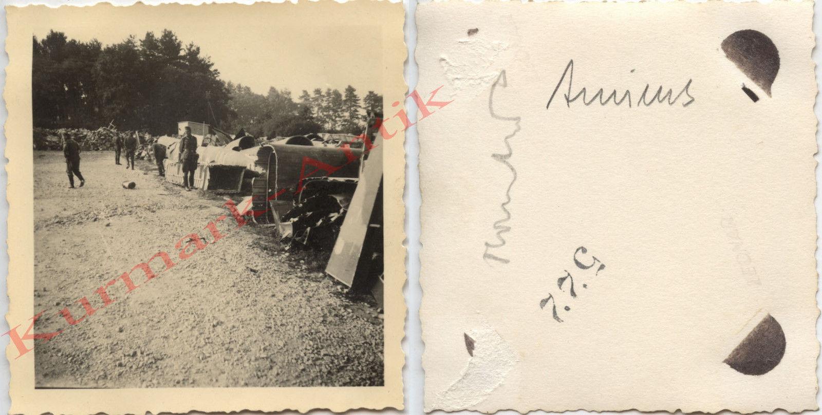 Cimetière d'avions Amiens