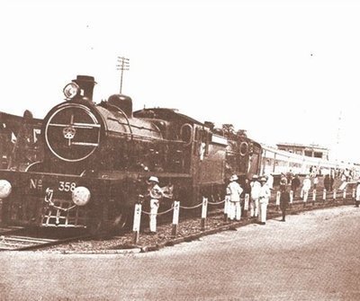 Train Bombay-Frontier Mail