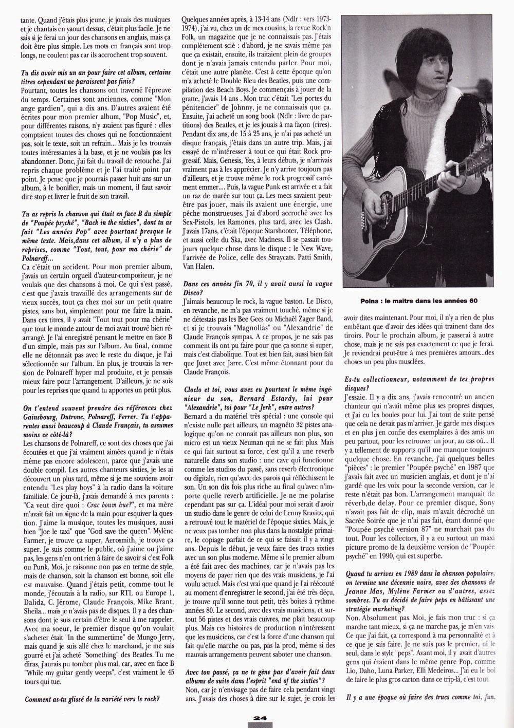 """THIERRY HAZARD (G.P.S., """"Le jerk"""") : interview 1993 dans """"Platine"""" (par Christophe Daniel & Jean-Pierre Pasqualini) 16011111425620773813888360"""