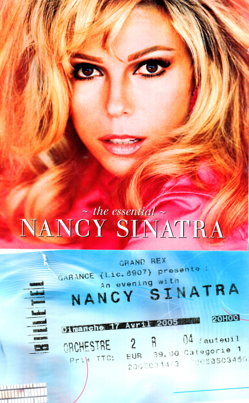 """An Evening With NANCY SINATRA"" 17/04/2005 Grand Rex (Paris) : compte rendu (review)  16011208074820773813889615"