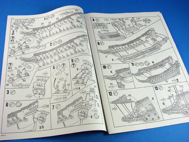 Swedish Regal Ship - Wasa ( 1628 ) --> Maquette Revell 1/150 ... 16011409283310194413895017