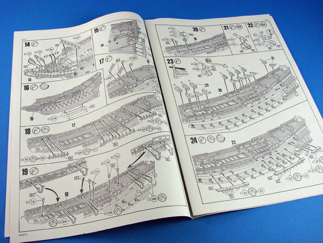 Swedish Regal Ship - Wasa ( 1628 ) --> Maquette Revell 1/150 ... 16011409283510194413895018