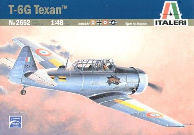 N.A. T-6 Texan California Air National Guard (Italeri 1/48) 16011702503810194413902287