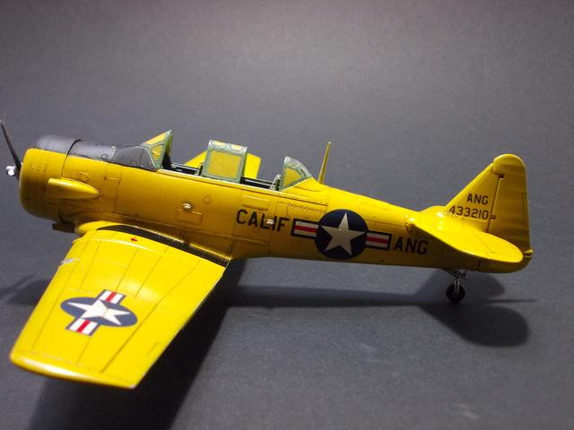 N.A. T-6 Texan California Air National Guard (Italeri 1/48) 16011702513810194413902290