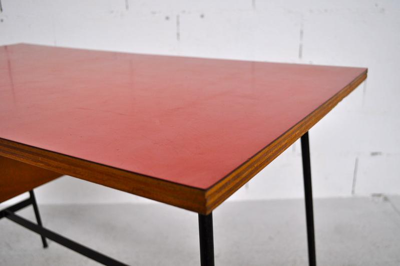 bureau pierre paulin cm 178 thonet diteur vers 1960 ebay. Black Bedroom Furniture Sets. Home Design Ideas