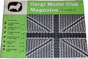 Corgi Model Club magazine