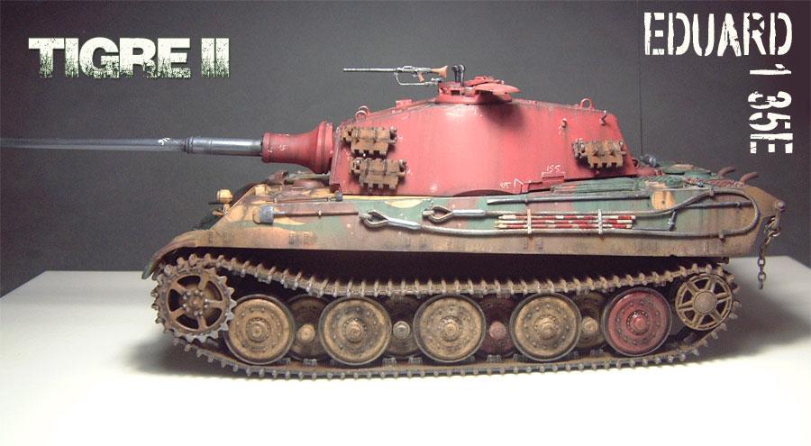 Tigre II [Eduard] - 1/35e - 1601250202554769013923698