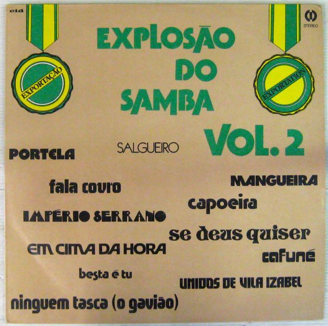ARTISTES DIVERS - Explosao do Samba Vol 2 - LP