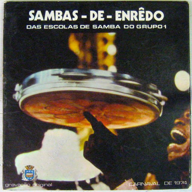 ESCOLAS DE SAMBA DO GRUPO 1 - Sambas de Enredo - LP Gatefold