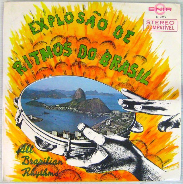 ALL BRAZILIAN RYTHMS - Explosao de ritmos do Brazil - LP