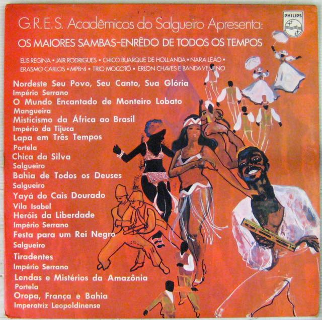 GRES - ACADEMICOS DO SALGUEIRO - Os Majores Sambas - Enredo de todos os tempos - LP