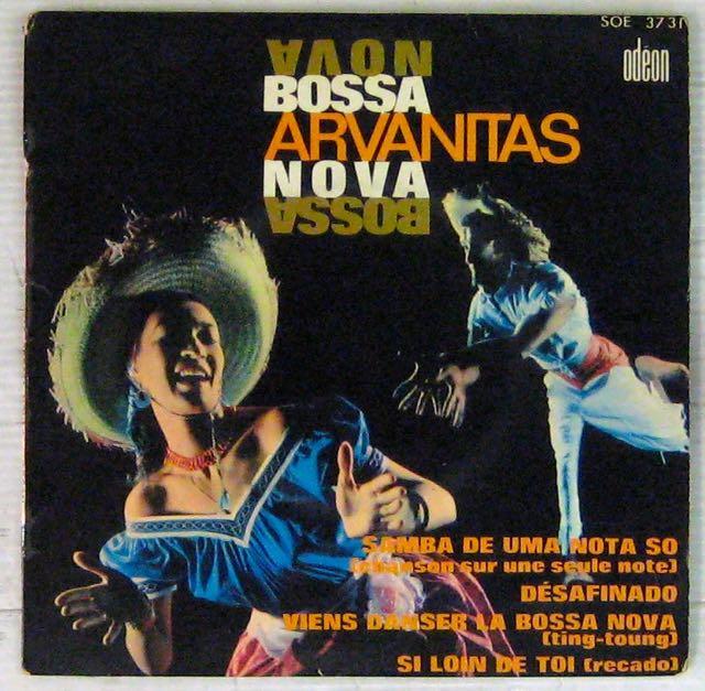ARVANITAS GEORGES - Bossa Nova - 7inch (EP)