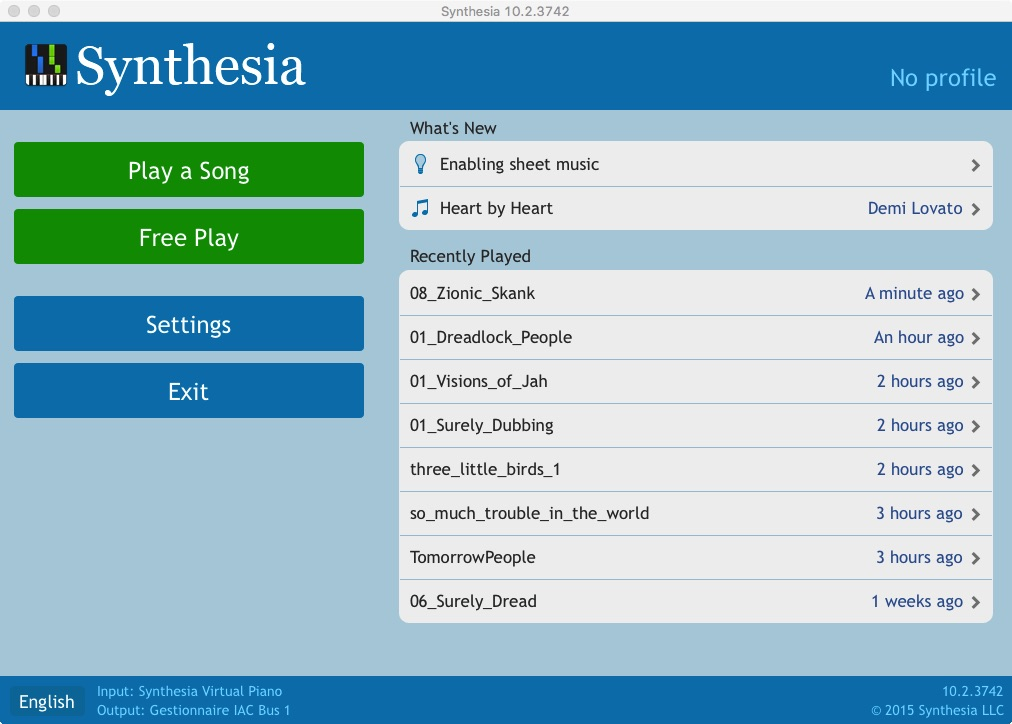 Synthesia Flat