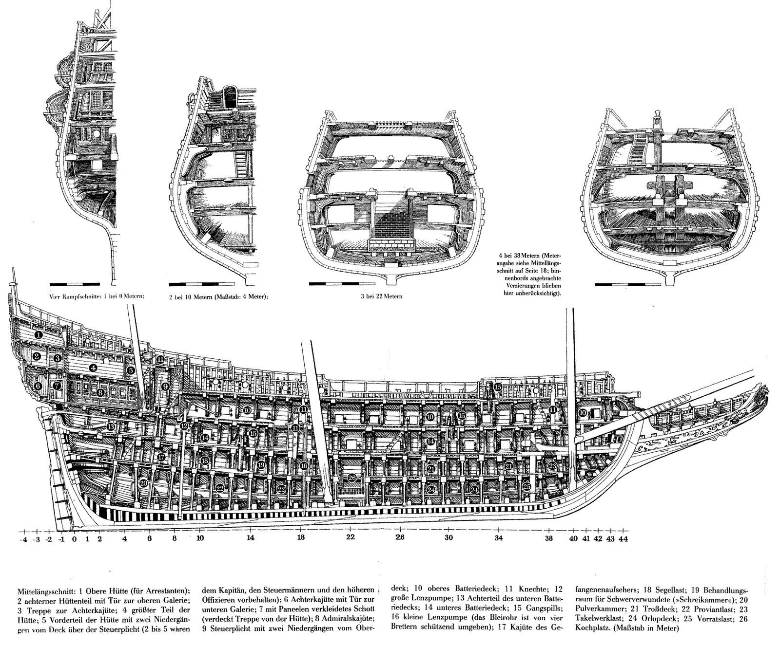 Swedish Regal Ship - Wasa ( 1628 ) --> Maquette Revell 1/150 ... 16020310084910194413945721