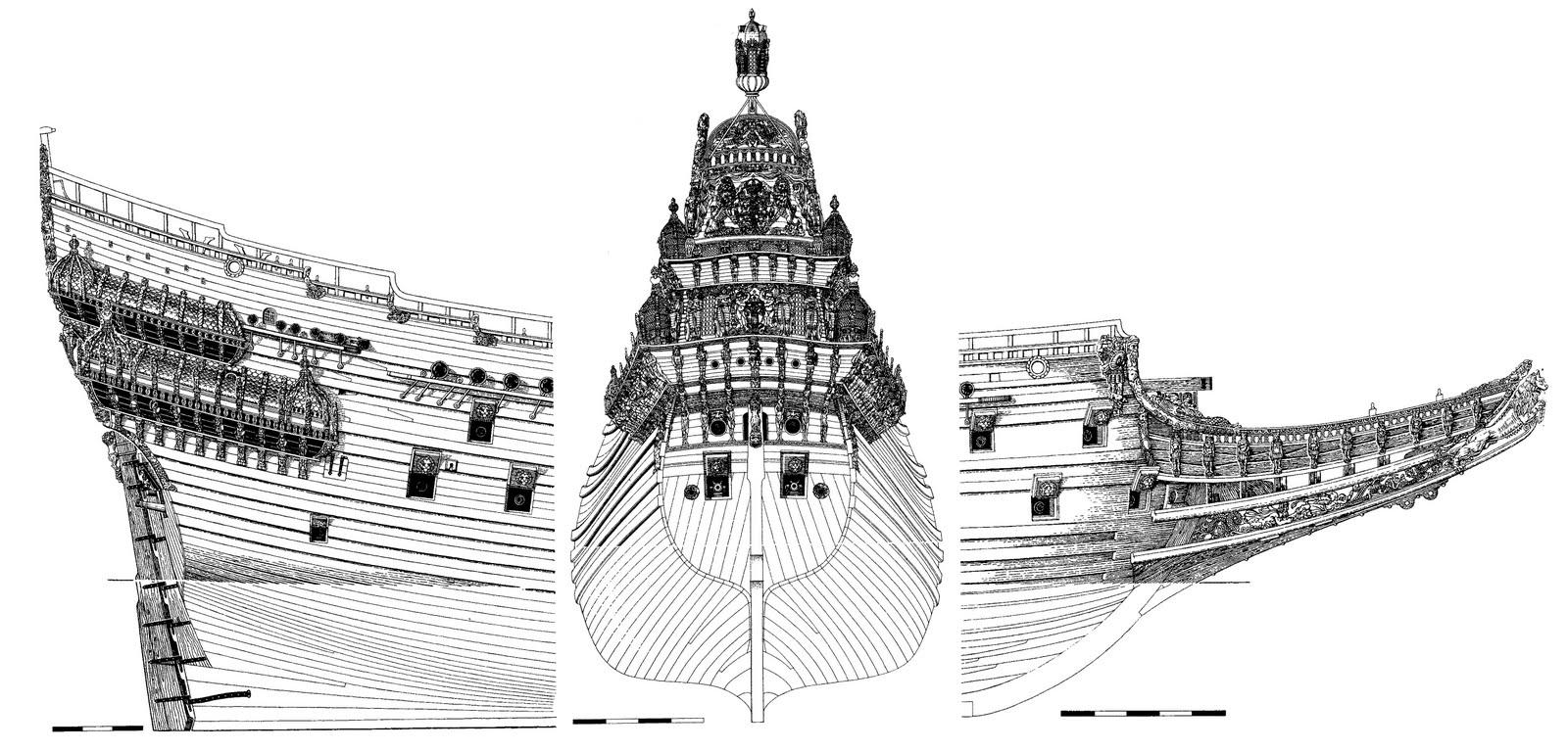 Swedish Regal Ship - Wasa ( 1628 ) --> Maquette Revell 1/150 ... 16020310085510194413945723