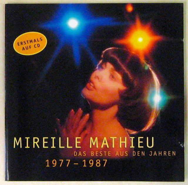 Mathieu Mireille Das beste aus den jahren 1977-1987