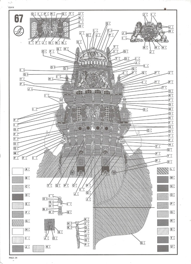 Swedish Regal Ship - Wasa ( 1628 ) --> Maquette Revell 1/150 ... 16020408435710194413946079