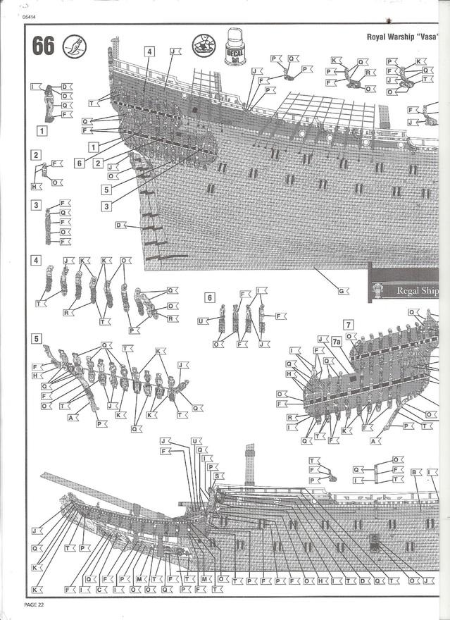 Swedish Regal Ship - Wasa ( 1628 ) --> Maquette Revell 1/150 ... 16020408450110194413946081