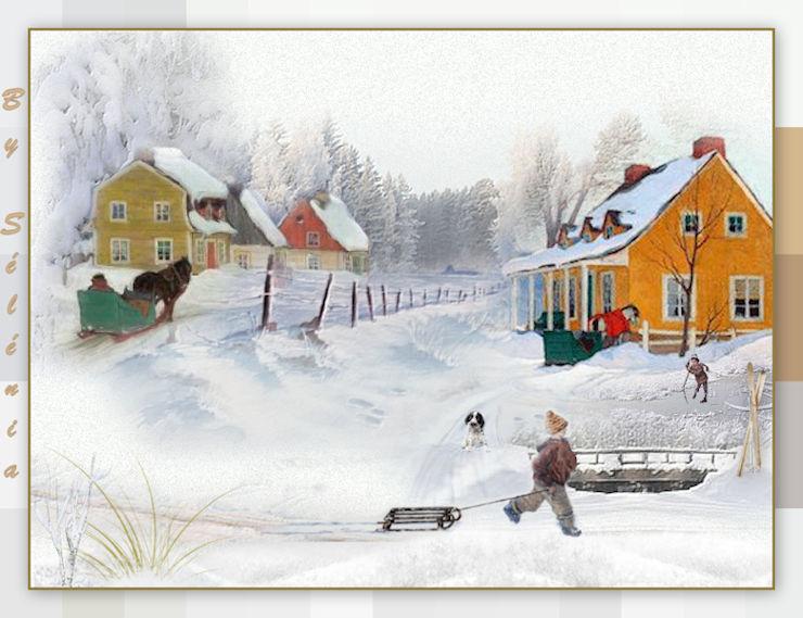 Scene d''hiver Canelle 07-02-16